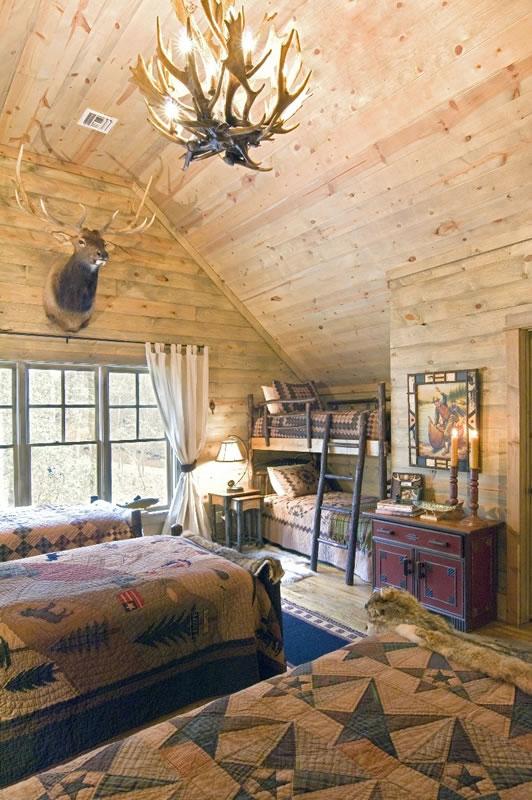 Built In Bunkbeds Blue Ridge
