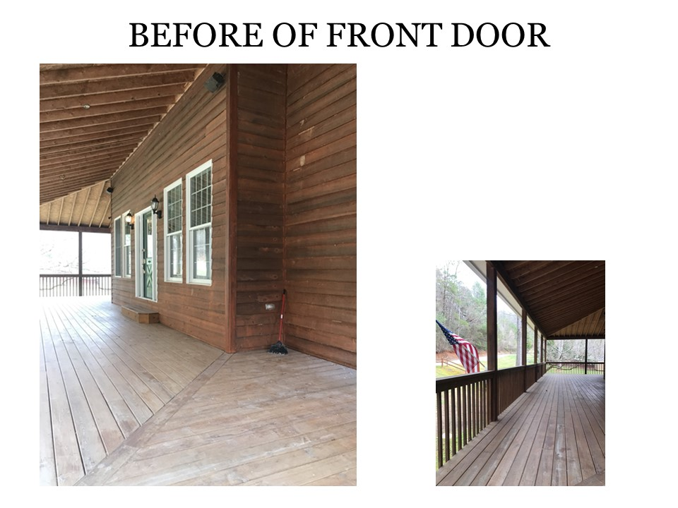 Before of Front Door