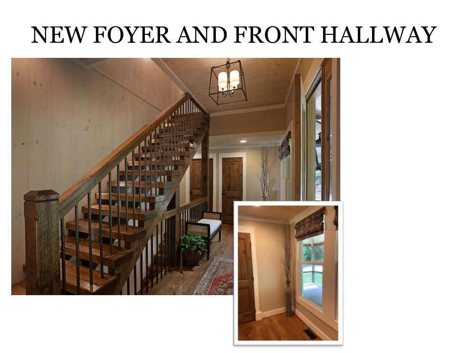 New Foyer and Entry