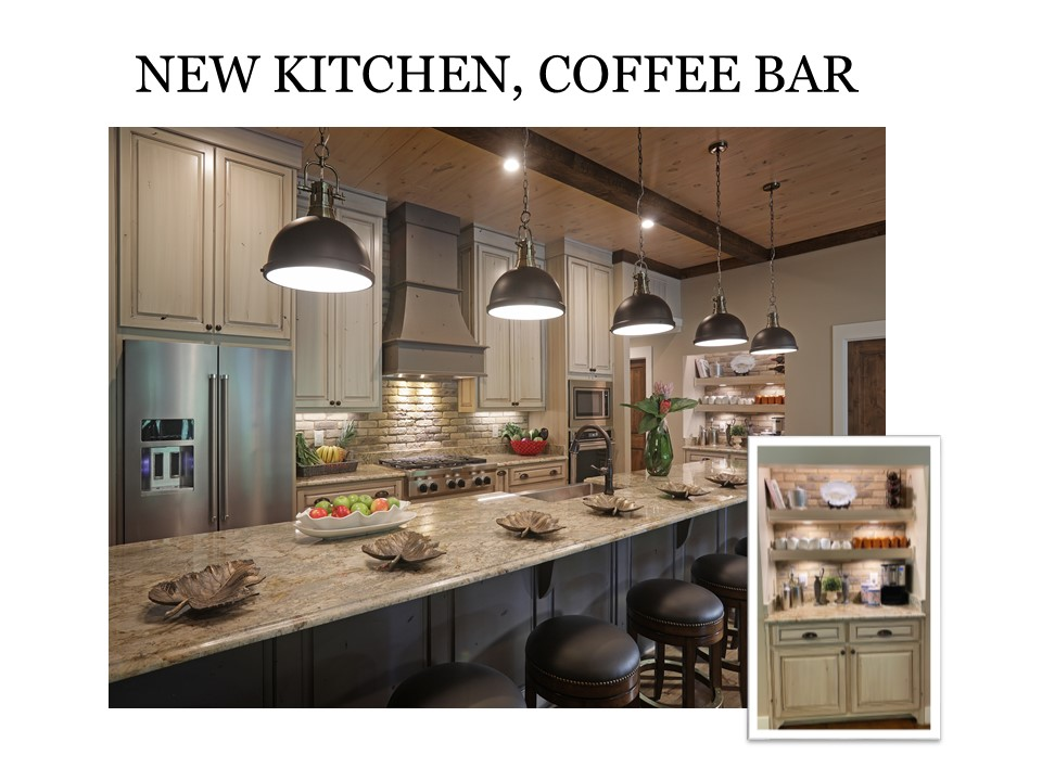 New Kitchen, Coffee Bar