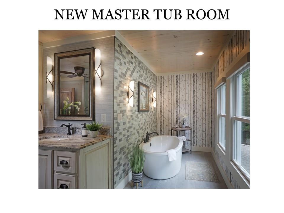 New Master Tub Room
