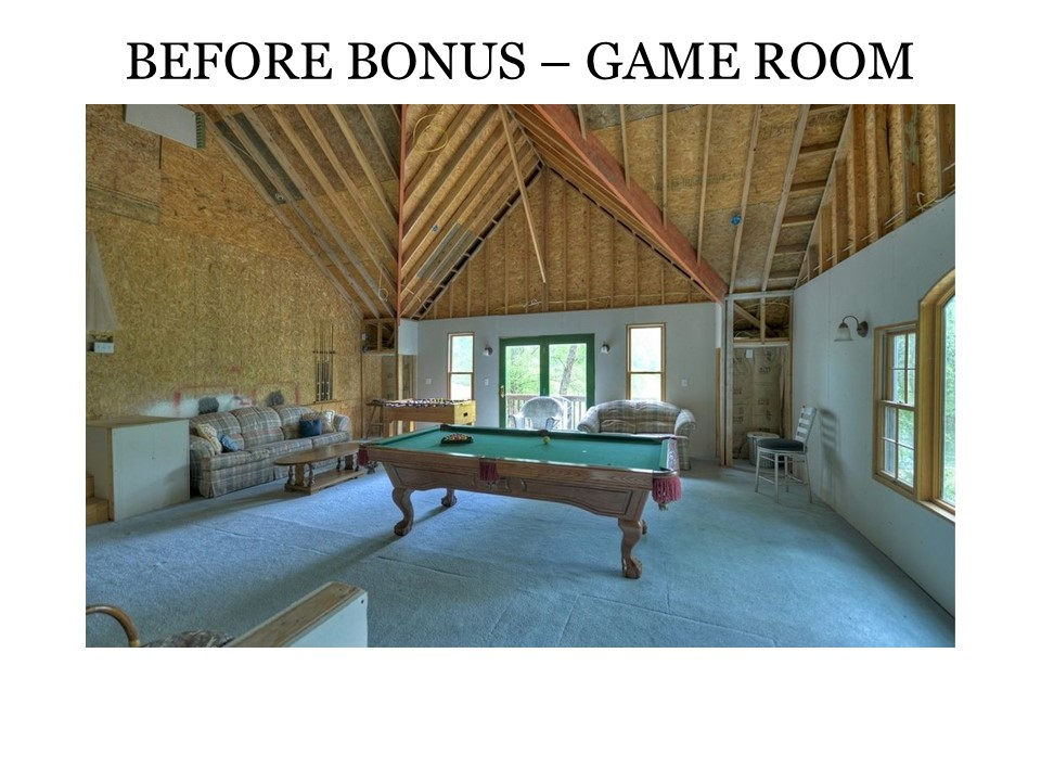 Before Bonus and Gamer Room