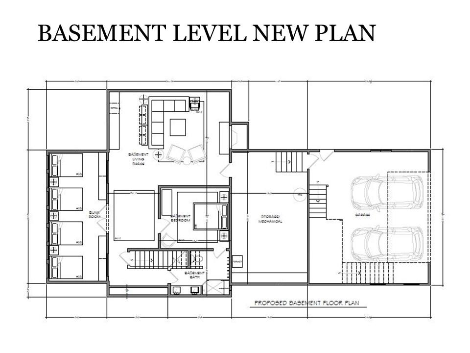 Basement Level New Plan