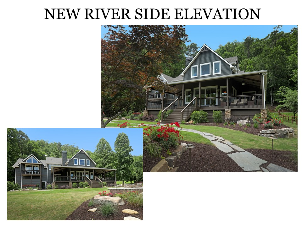 New River Side Elevation After Renovation