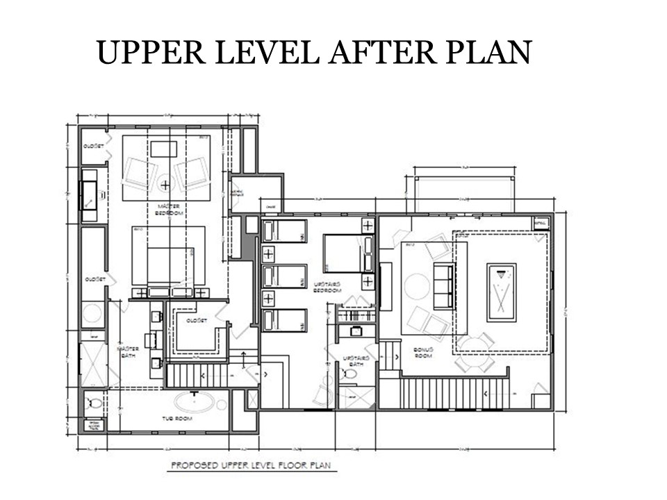 Upper Level After Plan